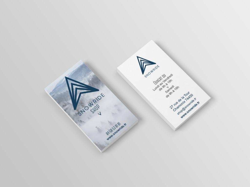 SnowRide carte de visite